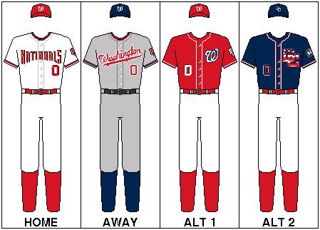 Nationals Uniform 23