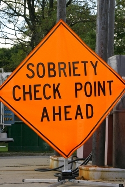 Sobriety Check Point Ahead.JPG
