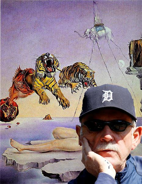 dream caused by the flight of the bumblebee featuring Jimmy Leyland.JPG