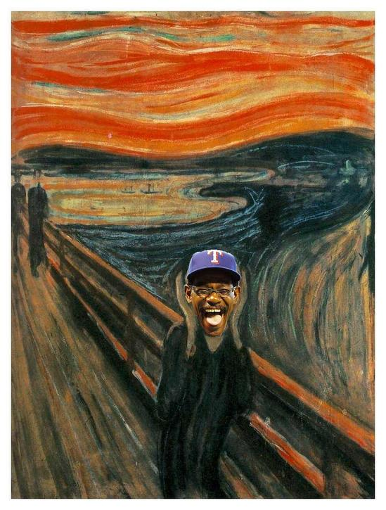 The Ron Washington Scream.JPG